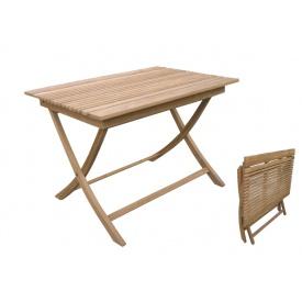 ジャービス商事 折り畳みスクエアテーブルA 『ガーデンテーブル』 無塗装