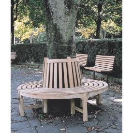 ジャービス商事 ラウンドベンチ 『ガーデンベンチ』 無塗装