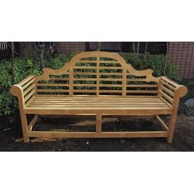 ジャービス商事 貴族ベンチ 『ガーデンベンチ』 無塗装