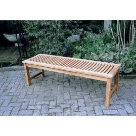 ジャービス商事 縁台ベンチ 『ガーデンベンチ』 無塗装