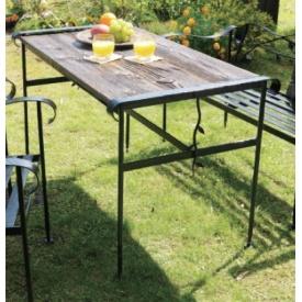 オンリーワン アイアン+バーンウッドテーブル 『ガーデンテーブル』