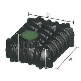 グローベン アンダータンク 3000L (ガーデンセット) ブラック