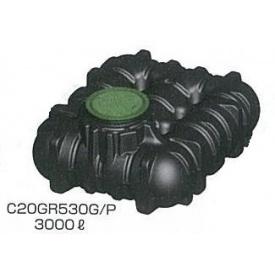 グローベン アンダータンク 5000L (ガーデンセット) ブラック