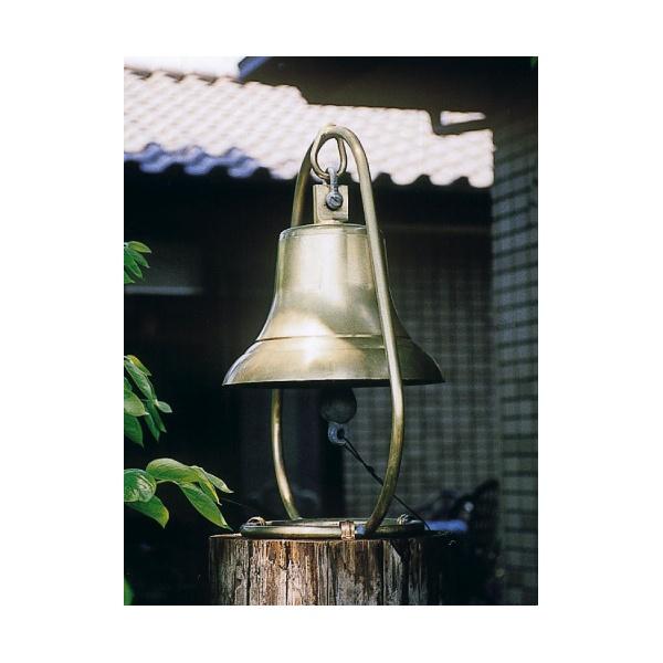 ジャービス商事 アンティーク鐘据置き型 真鍮色