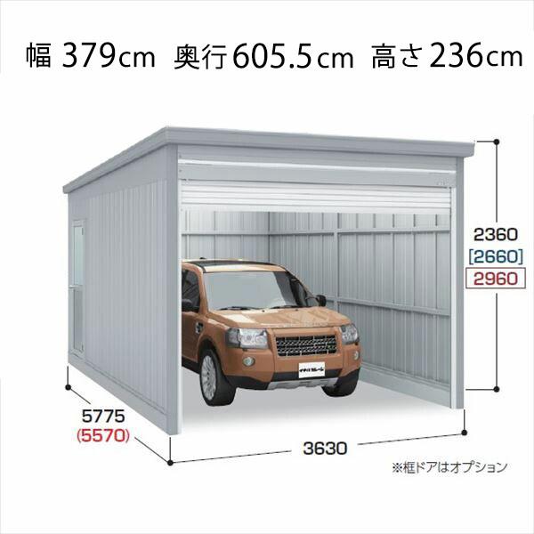 『配送は関東・東海限定』 イナバ物置 ガレーディア GRN-3657S 豪雪地型 『シャッター車庫 ガレージ』