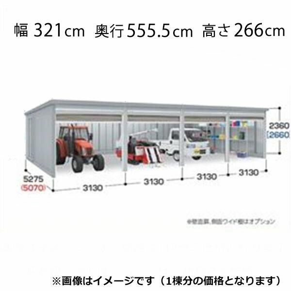 『配送は関東・東海限定』 イナバ物置 ガレーディア GRN-3152HL(基本棟) 豪雪地型 『シャッター車庫 ガレージ』