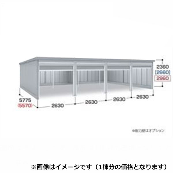 『配送は関東・東海限定』 イナバ物置 ガレーディア GRN-2657JL(基本棟) 豪雪地型 『シャッター車庫 ガレージ』