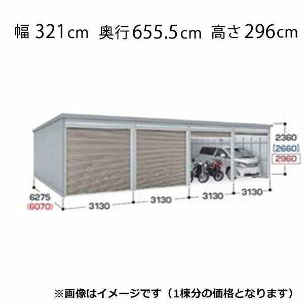 『配送は関東・東海限定』 イナバ物置 ガレーディア GRN-3162JL(基本棟) 豪雪地型 『シャッター車庫 ガレージ』