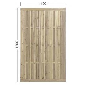 『欠品中』タカショー e-ウッドパネル3型 W11 (やまと縦型) 『緑化 天然木フェンス 柵』 別注塗装済み(ホワイト)