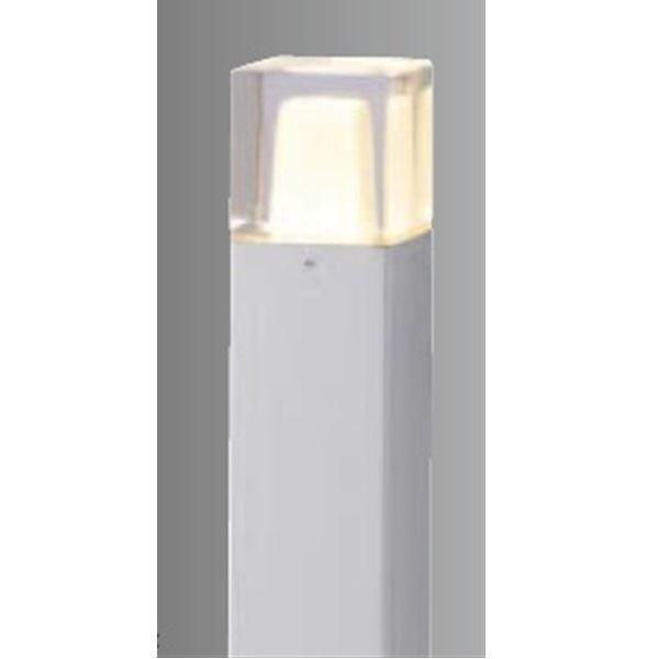 タカショー スタイルポールライト 10型(LED色:電球色) 100V用 HFD-D03S 100V用 『エクステリア照明 ライト』 シルバー