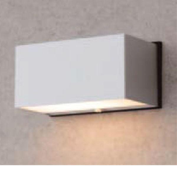 タカショー スタイルウォールライト 3型(LED色:電球色) HFB-D02S #61181200 『100Vライト 表札灯』 『エクステリア照明 ライト』 シルバー