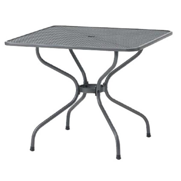 タカショー メタル スクエアテーブル 900 SSN-T01 #32760700 『ガーデンテーブル』