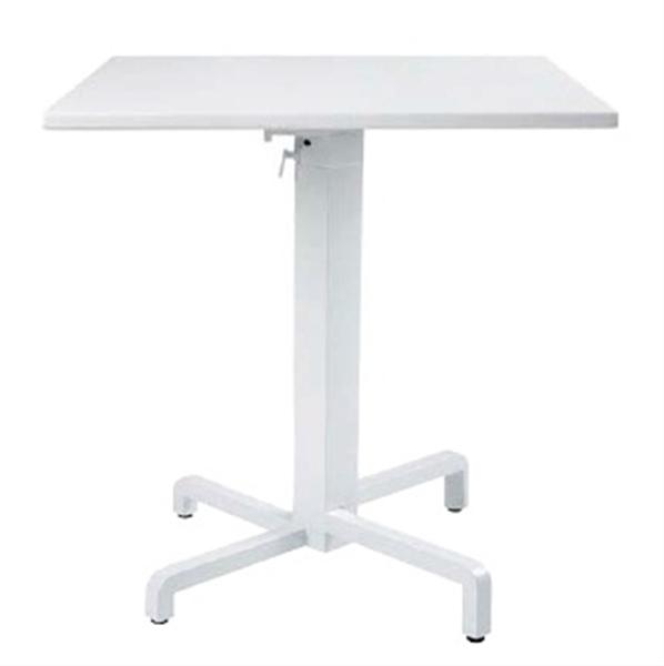 タカショー ナルディ ピアニ テーブル NAR-T02W #33685200 『ガーデンテーブル』 ホワイト