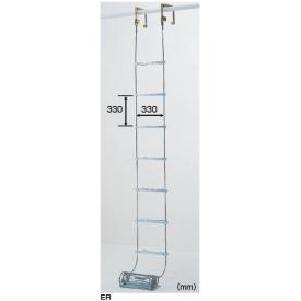 ピカコーポレイション 避難用ワイヤーロープはしご ER-72