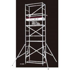 ピカコーポレイション パイプ製足場ハッスルタワー 2段セット ATL-2WA