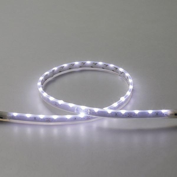 タカショー フレキシブルLEDバー サイドビュー600(LED色:白色)連結用 HAC-W07T 12V用 #73019300 『ローボルトライト』 『エクステリア照明 ライト』