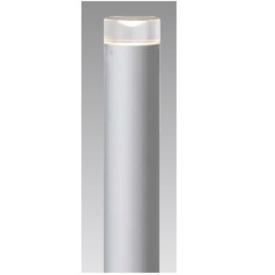 タカショー スタイルポールライト 11型(LED色:電球色)HFD-D31S 100V用 『エクステリア照明 ライト』 シルバー