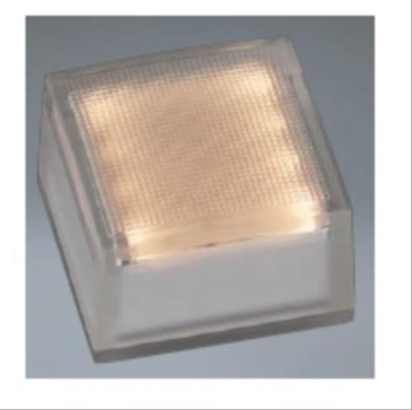 ユニソン ヘリオスグランドライト LEDグラス 100角 『エクステリア照明 ライト』 LED色:電球色