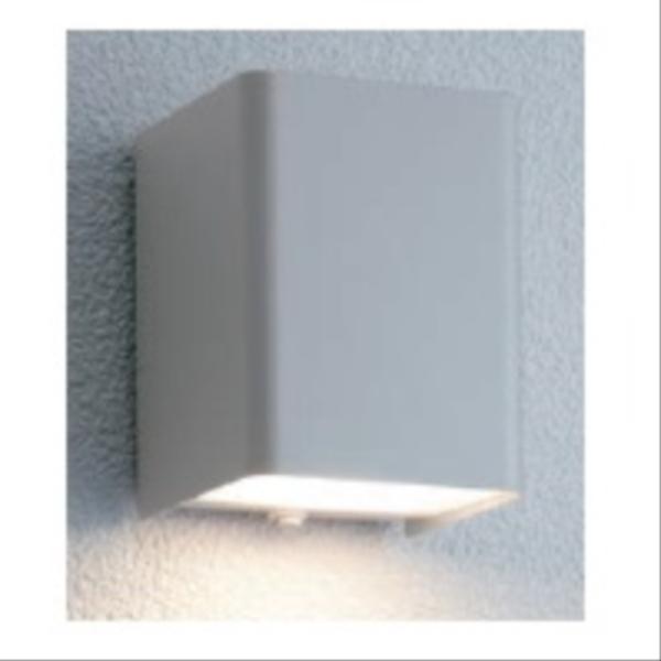 ユニソン ポージィウォールライト UA 01001 12 LED色:電球色 『エクステリア照明 ライト』 シルバー