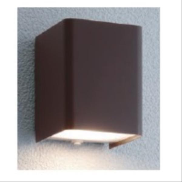 ユニソン ポージィウォールライト UA 01001 52 LED色:電球色 『エクステリア照明 ライト』 ラスティブラウン