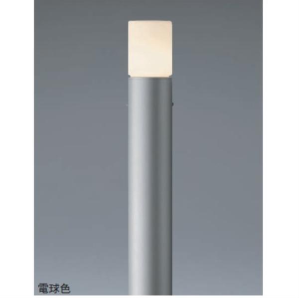 ユニソン ポージィポールライト UA 01006 11 LED色:白色 『エクステリア照明 ライト』 シルバー