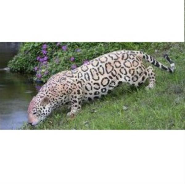 FRP 水辺のジャガー / Jaguar 『動物園オブジェ アニマルオブジェ 店舗・イベント向け』