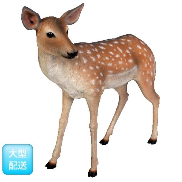 『動物園オブジェ アニマルオブジェ 店舗・イベント向け』 / 小鹿 FRP (Not in Benelux) Fallow Deer - Fawn