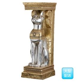 FRP エジプト猫のプランター / EGYPTIAN CAT PLANTER 『エジプトオブジェ 店舗・ホテル向け』