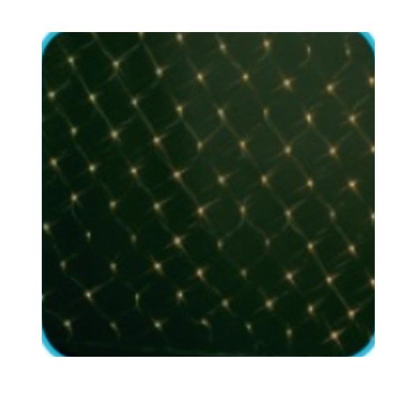 コロナ産業 LED180球ネットライト連結専用/電源部別売り(ブラックコード) LN180D LED色:電球色 『イルミネーションライト』