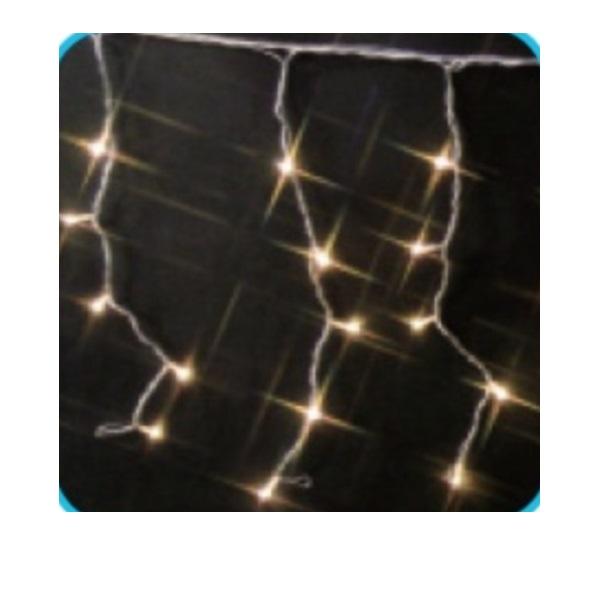コロナ産業 LED720球カーテンライト(シルバーコード) LPi720SD LED色:電球色 『イルミネーションライト』