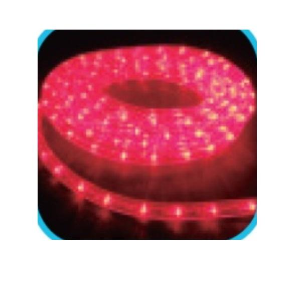 コロナ産業 LEDルミネチューブ/45mロール LED45R LED色:赤色 『イルミネーションライト』