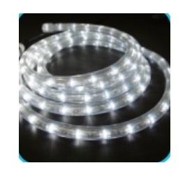 コロナ産業 LED4線チューブライト Φ14mm/99mロール 4R99W LED色:白色 『イルミネーションライト』