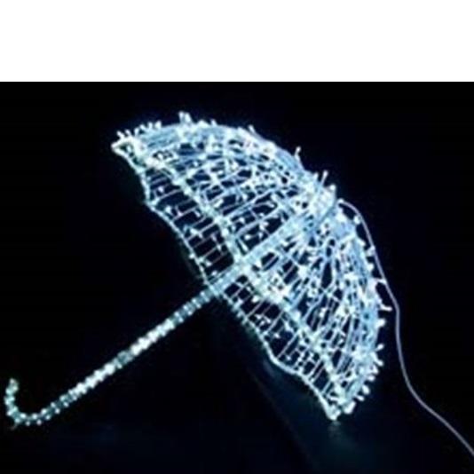 コロナ産業 3Dモチーフ アンブレラ L3D293 『イルミネーションライト』