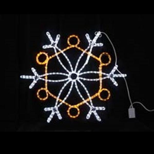 コロナ産業 LEDスノーフレーク白・黄色 L2DM239 『イルミネーションライト』