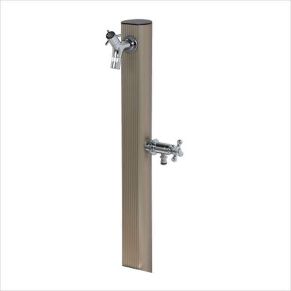 オンリーワン 二口水栓柱 1200 HV3-ALST120S 『水栓柱・立水栓 蛇口は別売り』 サンステン