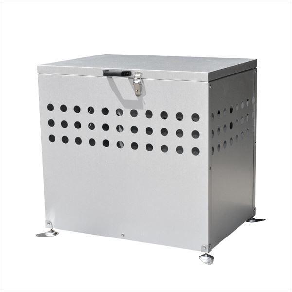 メタルテック ガルバ鋼板製 ふた付 ダストボックス DST-700 200L 『ゴミ袋(45L)集積目安 4袋、世帯数目安 2世帯』 『ダストボックス ゴミステーション 屋外』