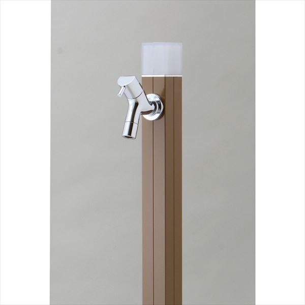 オンリーワン 不凍水栓柱 アイスルージュ 1.0m TK3-DKBR 『水栓柱・立水栓セット(蛇口付き)』 ブラウン