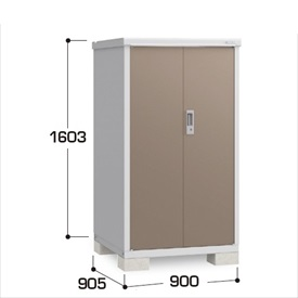 『配送は関東・東海限定』イナバ物置 BJX/アイビーストッカー BJX-099D 全面棚タイプ  『追加金額で工事も可能』 『屋外用ドア型収納庫 DIY向け 小型 物置』 TB(ティンバーブラウン)