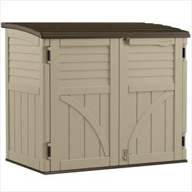 SUNCAST ボックス収納庫 BMS3400 ベースキャビネット Country(カントリー)   『サンキャスト おしゃれ 物置小屋 屋外 DIY向け』