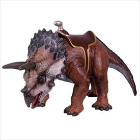 FRP 乗れるトリケラトプス / Triceratops 24 H 『恐竜オブジェ 博物館オブジェ 店舗・イベント向け』