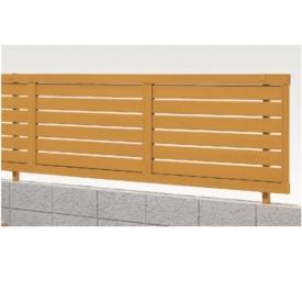 リクシル 新日軽 木樹脂フェンスJ8型 本体 H=1000用 「横スリット」  『木調フェンス 柵』