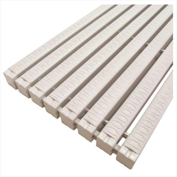 ミヅシマ工業 樹脂製グレーチング フリーハードルST-2-GM ♯200  200mm×1m×26mm 431-2420 *受け枠別途 アイボリー