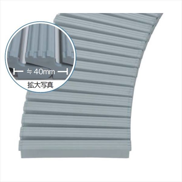 ミヅシマ工業 樹脂製グレーチング フリーハードルEM ♯150~199  150~199mm×1m×25mm 431-1020 *受け枠別途 ライトブルー