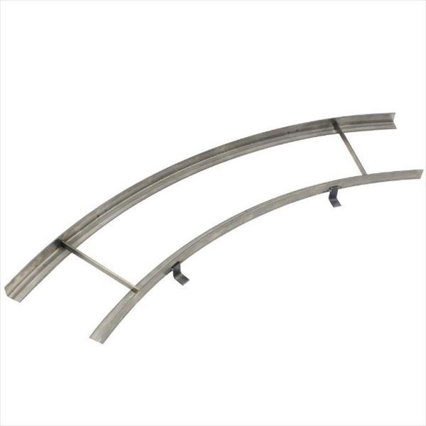 ミヅシマ工業 グレーチング オプション フリーハードル専用 受け枠ST-4 25m・曲線  高さ25mm用 431-2110 *グレーチング別途 ステンレス