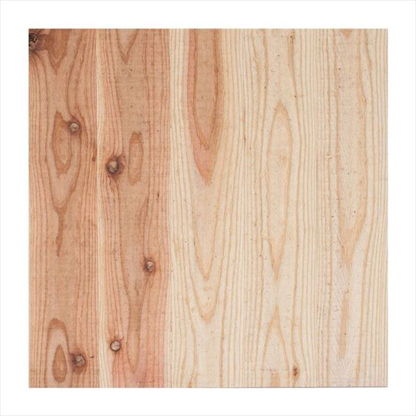 みんなの材木屋 ユカハリ・タイル ラフ  NM-207 8枚入り(2平米分) (粗削り)