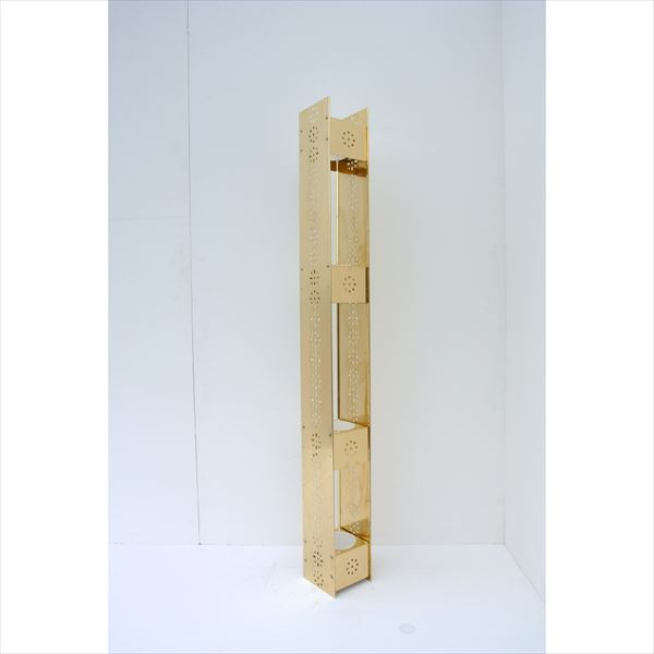 愛紳照明 San Francisco Flower プラントポット支柱本体 #BC-55 真鍮(C2801)製 『プラントポット受け C98×4個 セット』