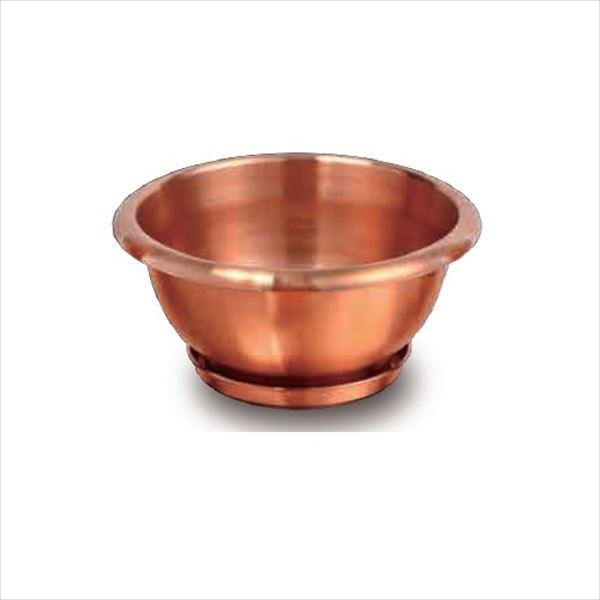 愛紳照明 粋勢-Ikiiki- 銅製鉢植 #DW-300 銅(C1100)製 *受け皿付