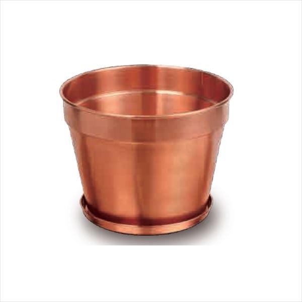 愛紳照明 粋勢-Ikiiki- 銅製鉢植 #DH-314 銅(C1100)製 *受け皿付