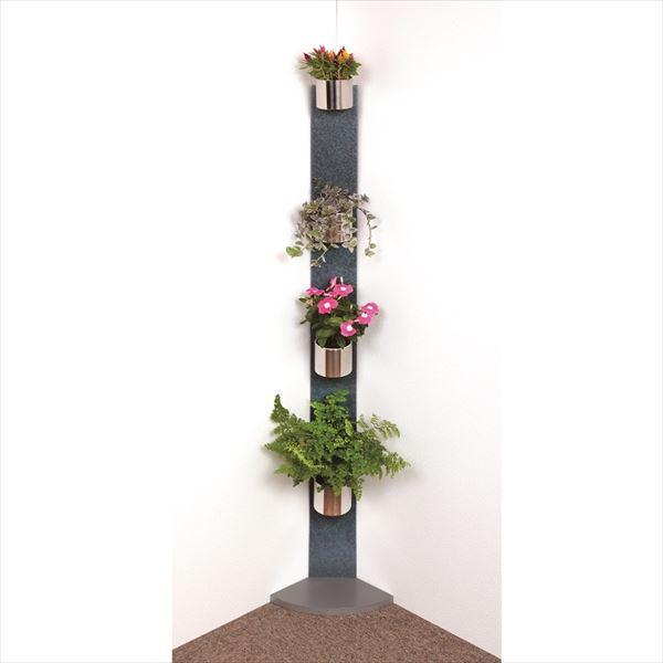 愛紳照明 San Francisco Flower #SA-12 セット2 ETパネル(スチール1.0)製 *鉢用台座 ×3、銅製鉢植 ×3 、受け皿 ×4 セット