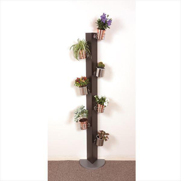 愛紳照明 San Francisco Flower #SA-13 セット1 ETパネル(スチール1.0)製 *鉢用台座 ×3、銅製鉢植 ×3、受け皿 ×3 セット